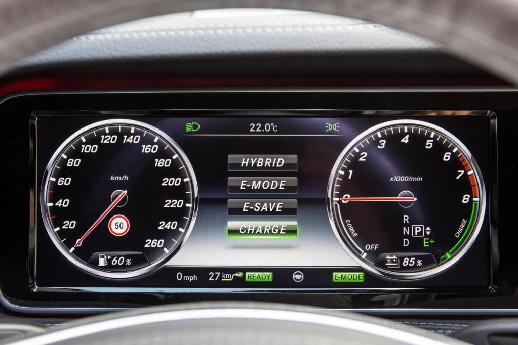 S-Klasse S 500 Plug-in Hybrid: Sparen auf höchstem Niveau