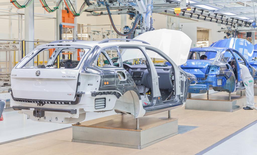 Skoda bereitet Fabia-Produktion in den Werksferien vor