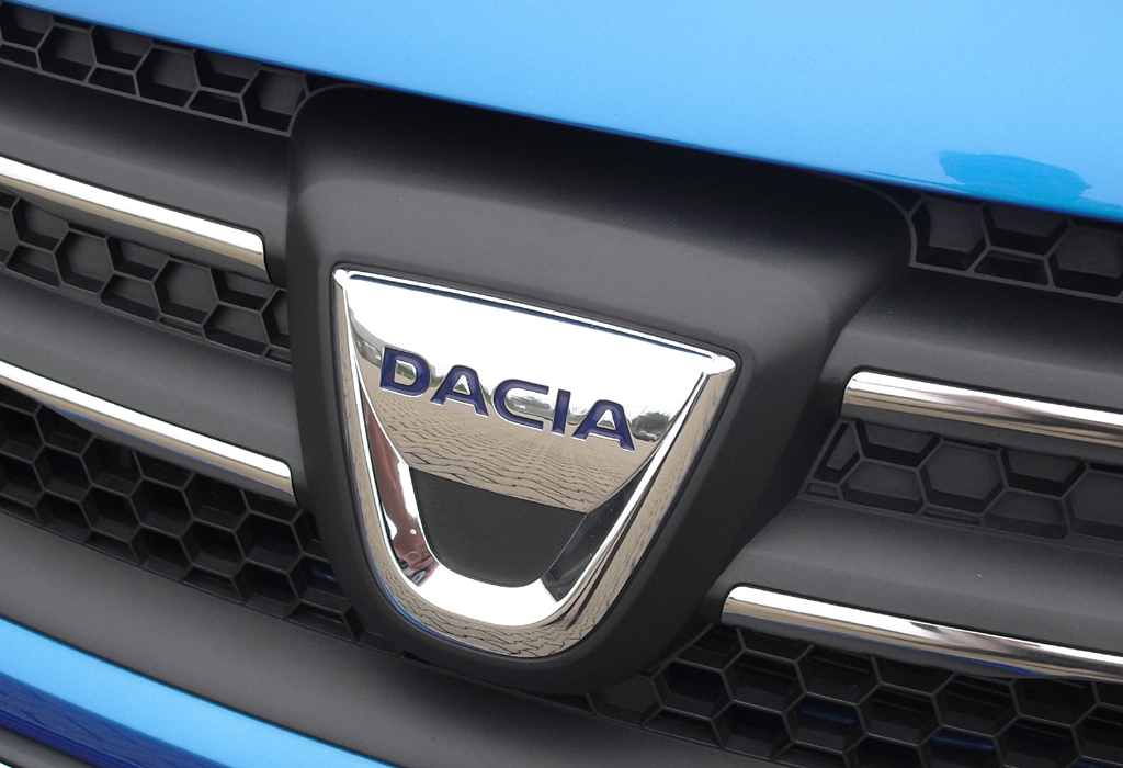 So sieht das aktuelle Dacia-Logo aus