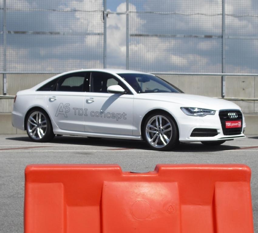 Starker Antreiber, hier fr den groen A8: Audi V8 TDI
