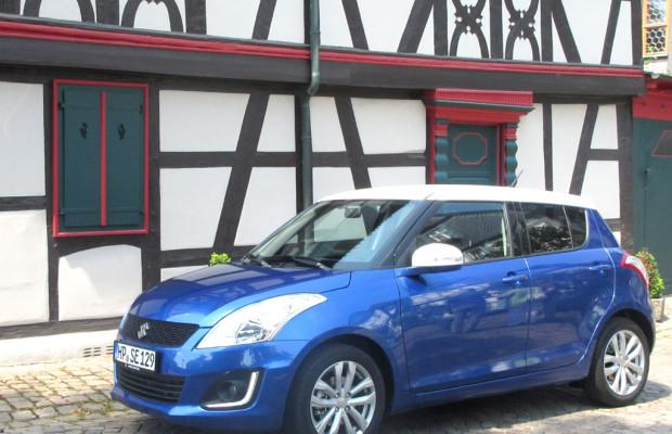 Suzuki macht Leistungswettrüsten