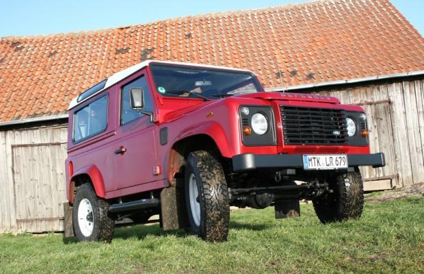 Test Land Rover Defender 90 SW: Keiner hat länger durchgehalten
