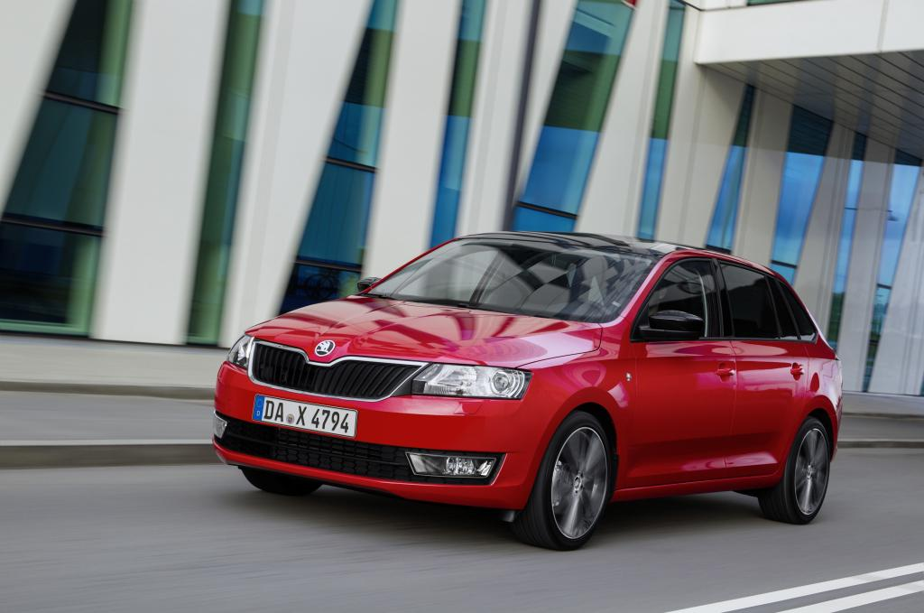 Test Skoda Rapid Spaceback -  Einfach gut