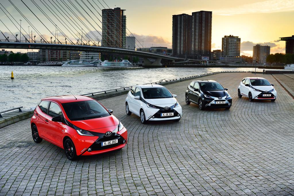 Toyota Aygo kommt in den Handel