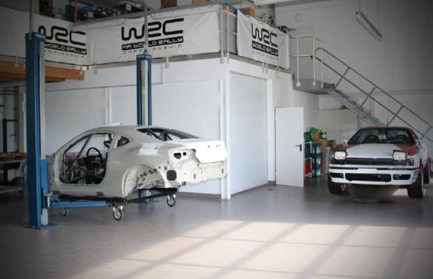 Toyota GT86 für den Rallyesport