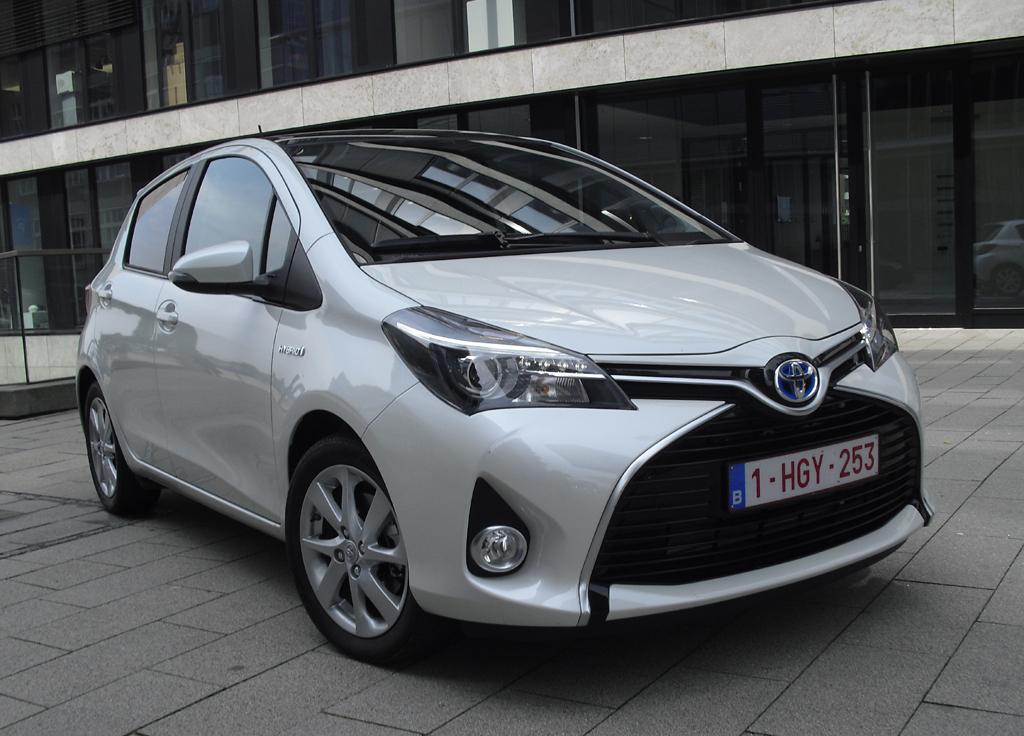 Toyota Yaris, hier als Hybrid.