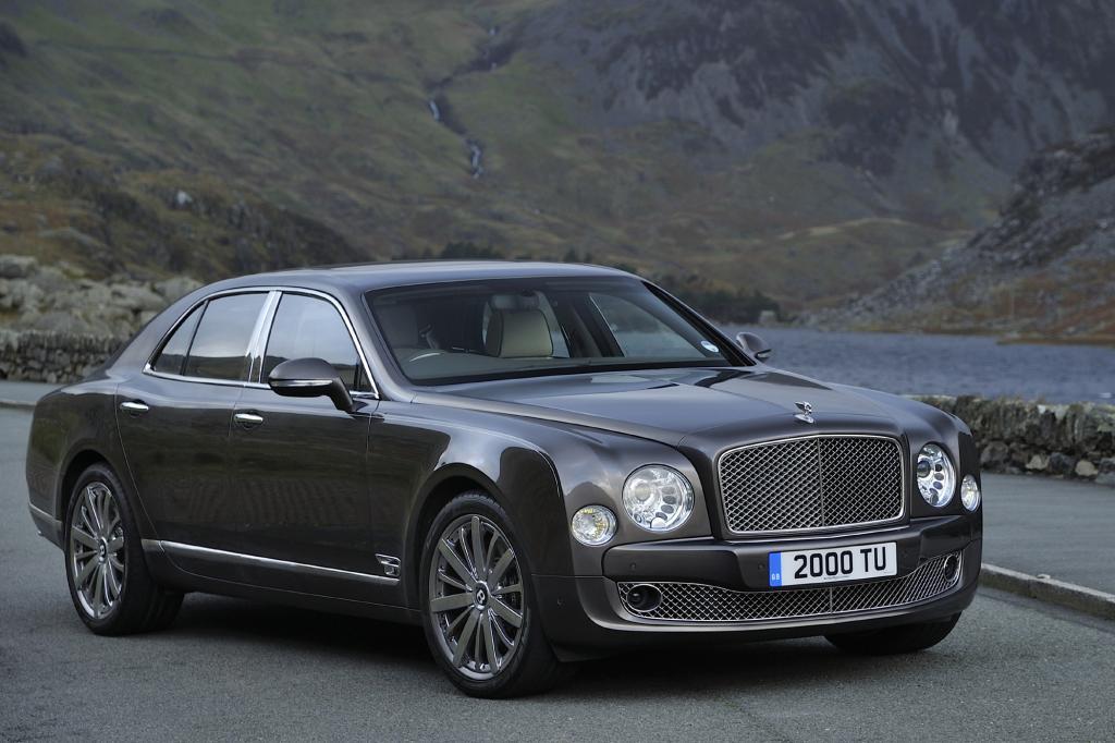 Trotz gerade einmal 14 Verkäufen der ultimativen Luxuslimousine Mulsanne sieht Bentley diese geringe Zahl unter Verkaufsaspekten positiv.
