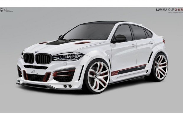 Tuning für den neuen BMW X6 - Mit voller Wucht