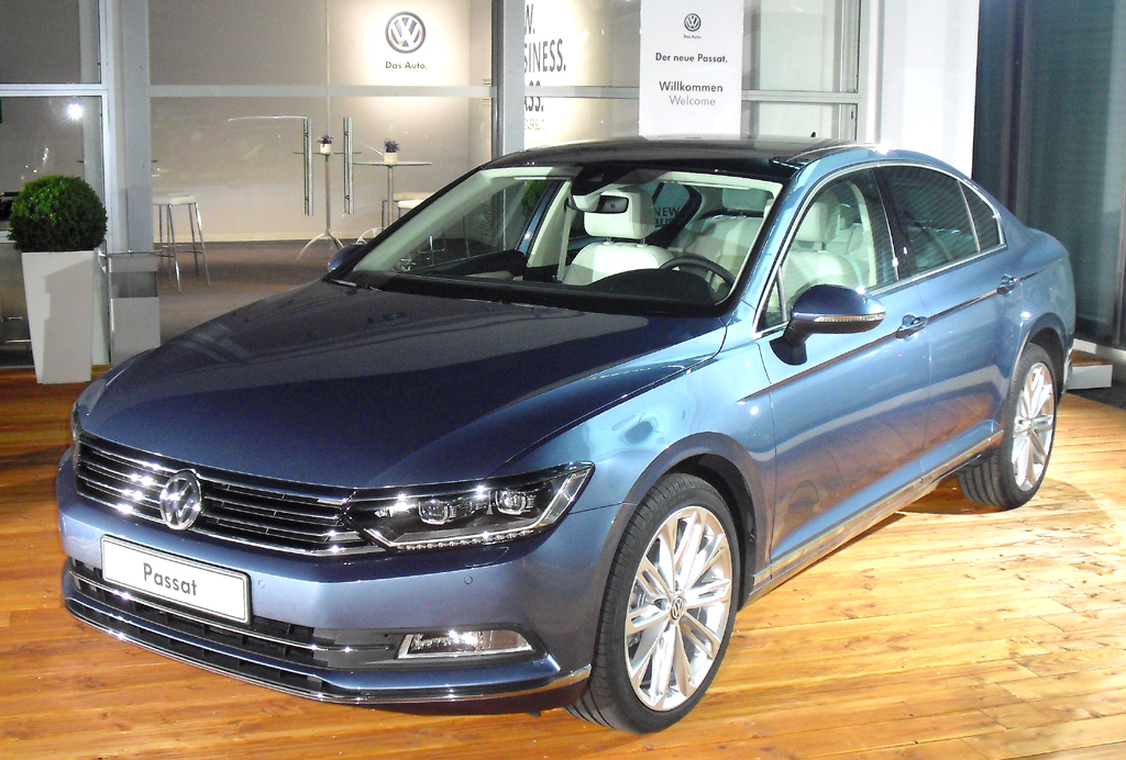 VW Passat: ... und so in der Normalversion.