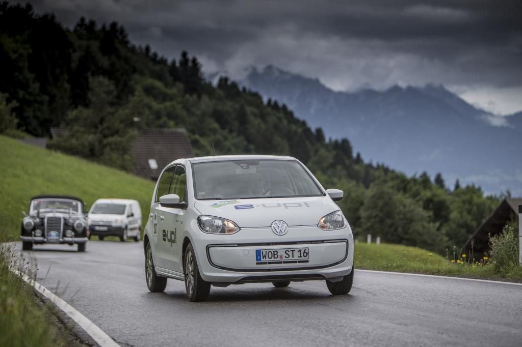 VW schickte den E-Up ins Rennen