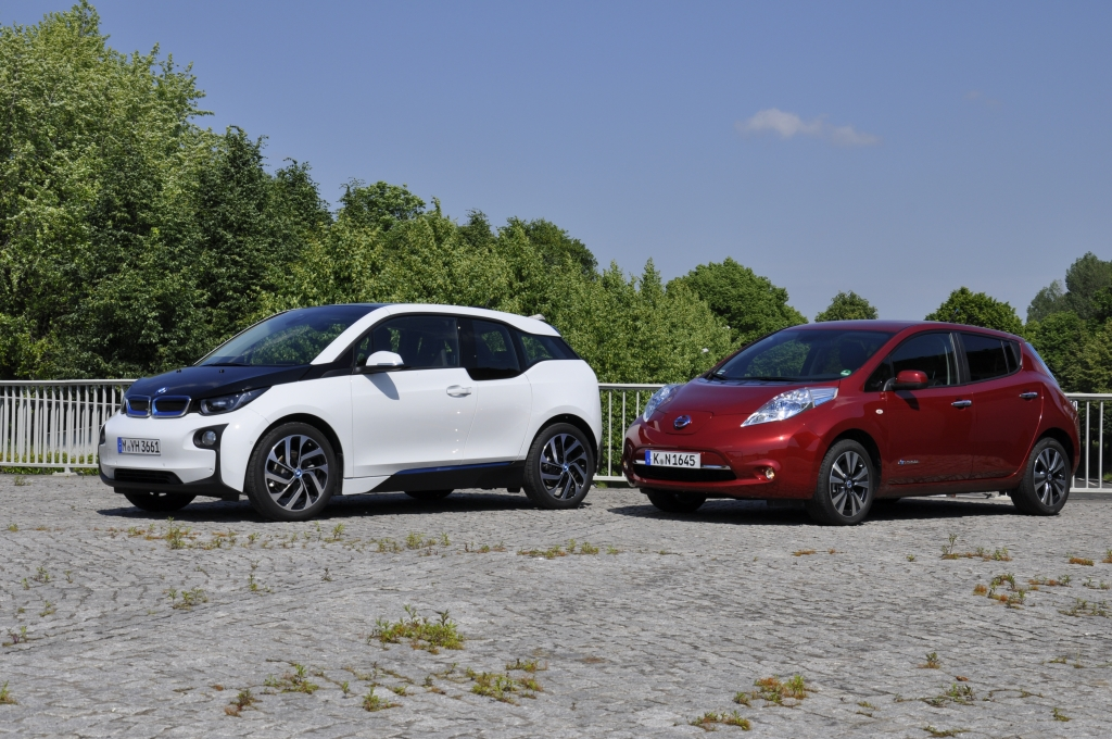 Vergleich: BMW i3 gegen Nissan Leaf - Es hat sich was getan