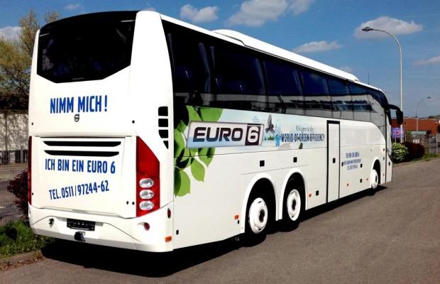 Volvo-Bus kommt ganz in Weiß