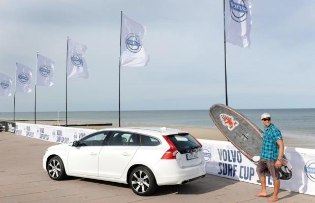 Volvo Titelsponsor des Surf-Cups