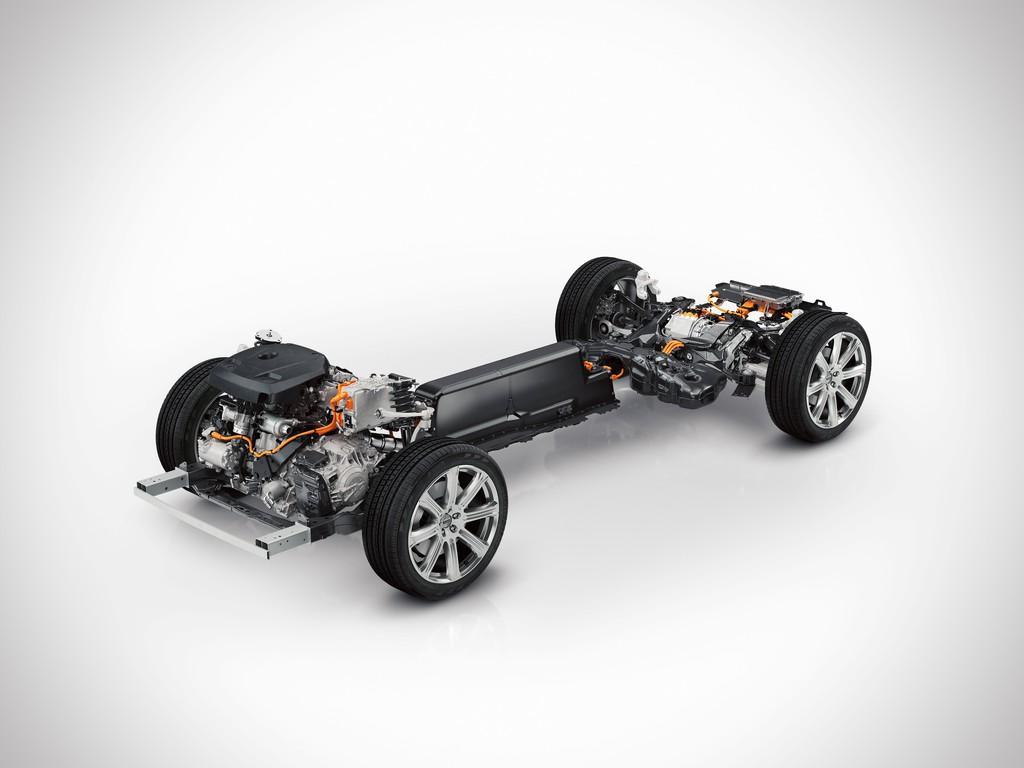 Volvo XC90 - Ganz oben steht der Hybrid