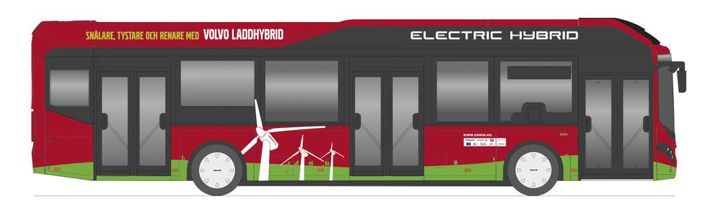 Volvo testet Elektro-Hybridbusse