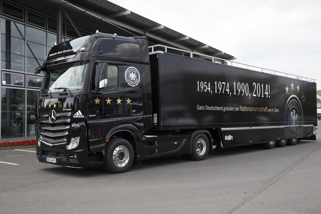 Weltmeister fahren Mercedes-Benz Actros