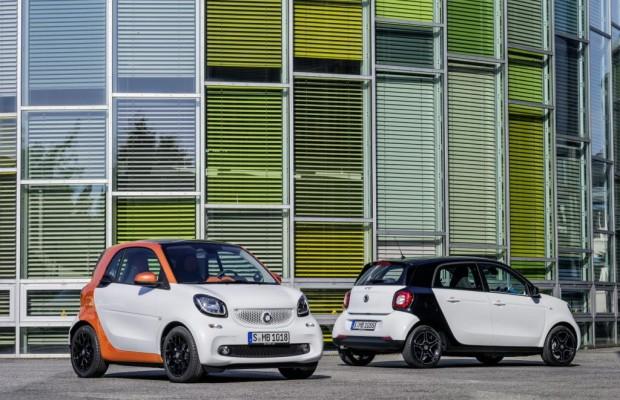 Weltpremiere Smart Fortwo und Forfour - Klein geblieben – groß geworden