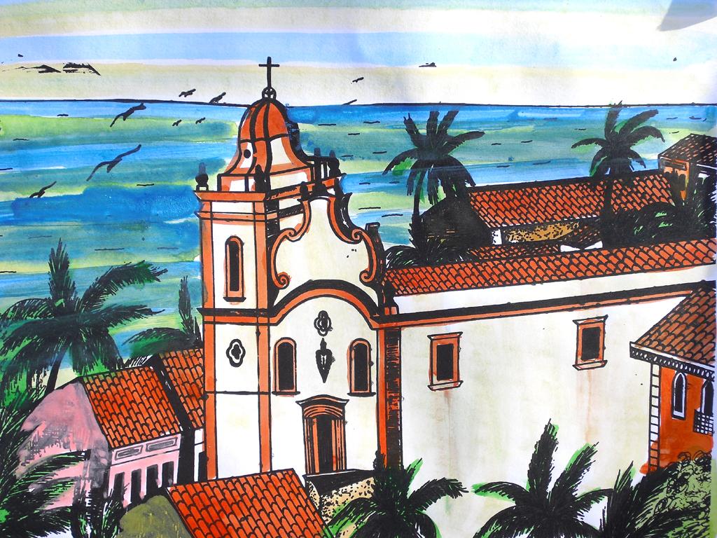Wie gemalt: Olinda ist ein barockes Juwel im Nordosten Brasiliens bei Recife.
