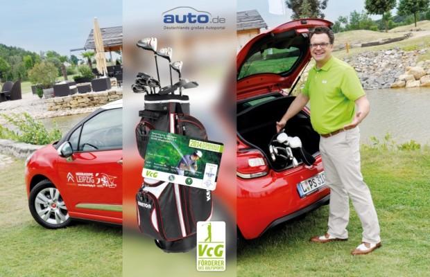 auto.de-Gewinnspiel: Golf Einsteiger-Paket gewinnen mit auto.de und dem VcG