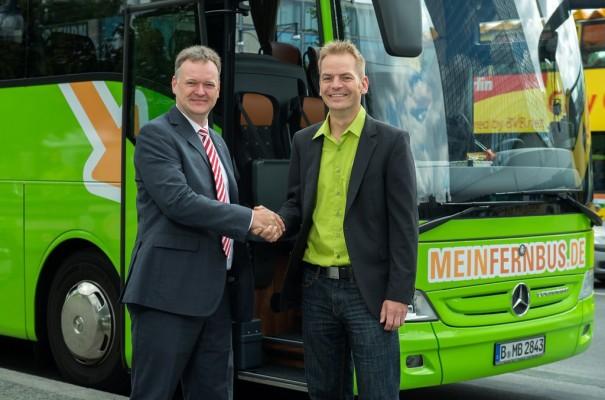 ADFC und Mein Fernbus kooperieren