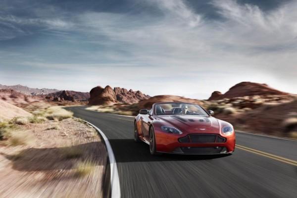 Aston Martin Vantage S Roadster: Erste Ausfahrt Pebble Beach
