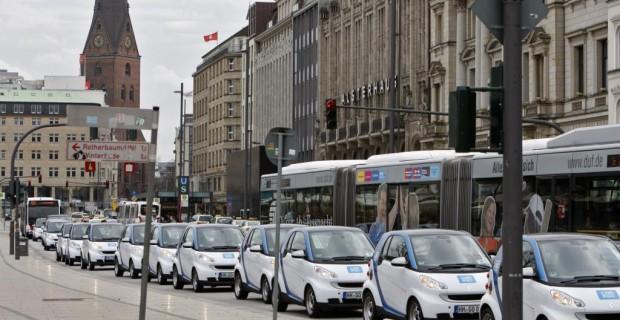 Auch Daimler setzt auf Carsharing