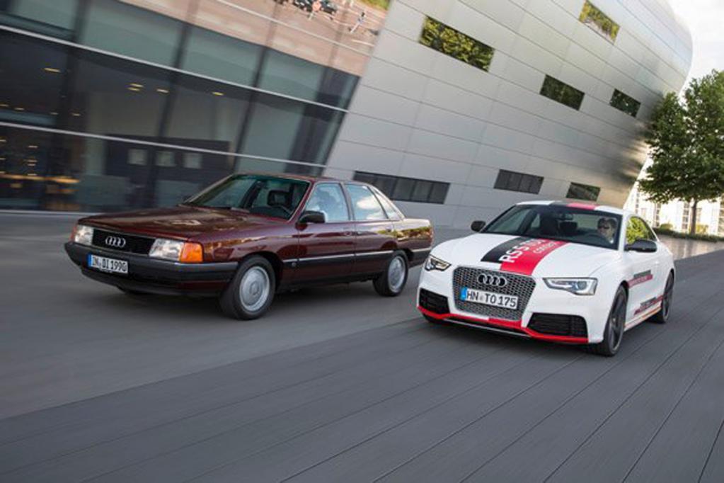 Audi feiert 25 Jahre TDI-Motor