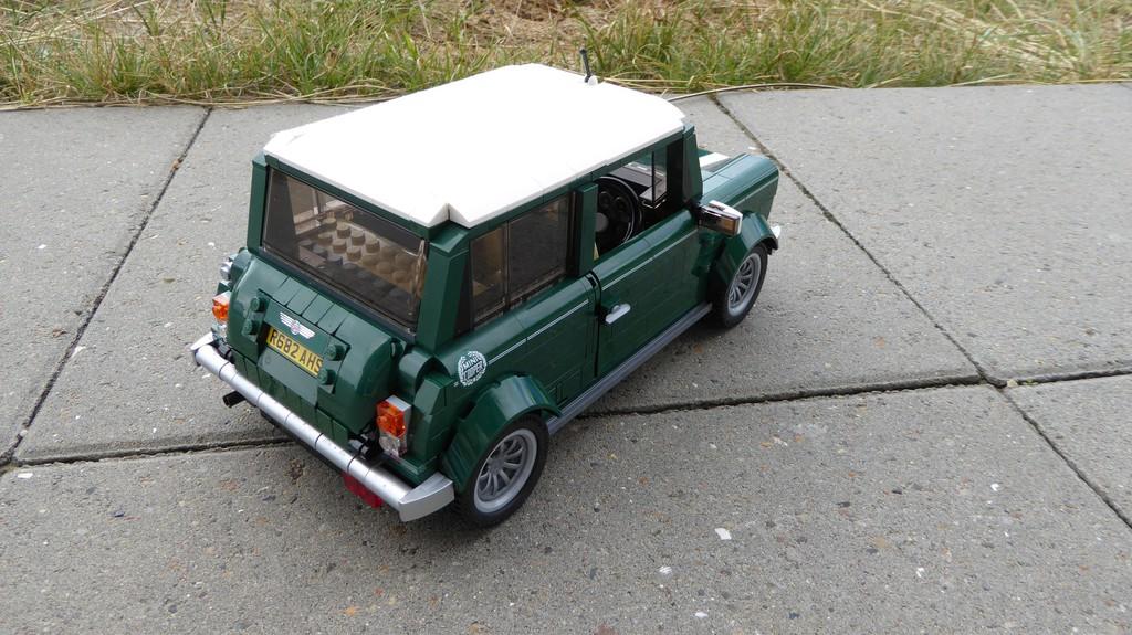 Ausprobiert: Mini Cooper von Lego – auch für große Jungs