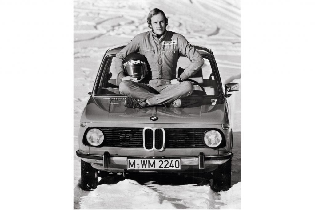 BMW 1502 mit Rennfahrer Hans Stuck