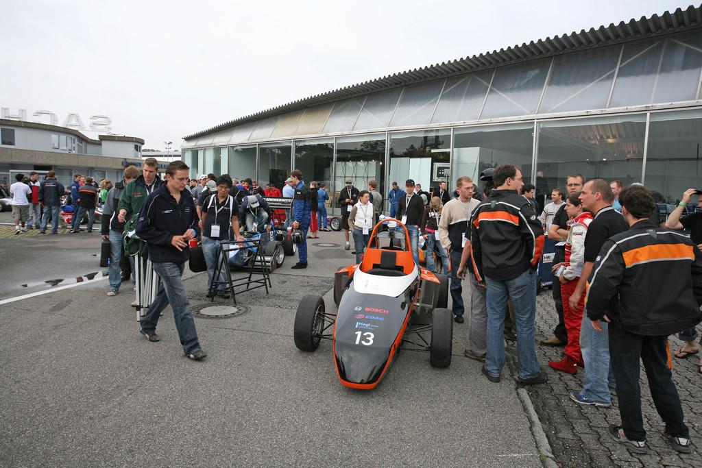 Bei Formula Student siegt deutsch-amerikanische Koproduktion