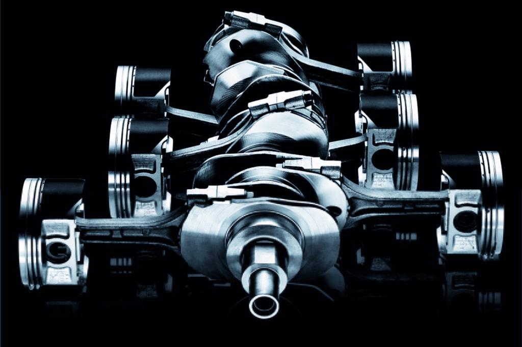 Beim Boxermotor bewegen sich die Kolben in Gegenrichtung