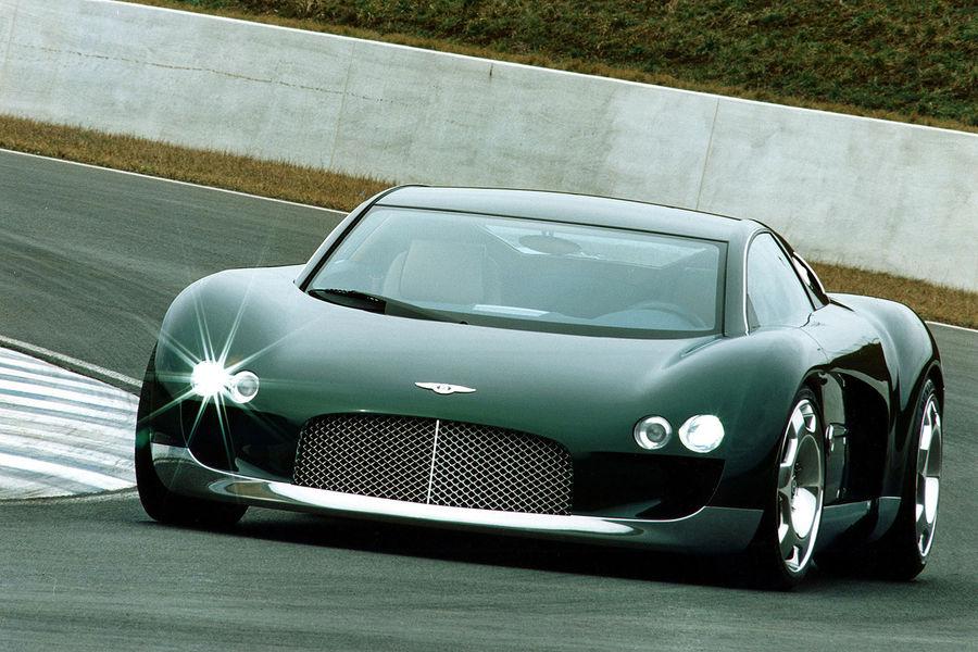 Bentley-Sportcoupé - Zweisitziger Brite im Gespräch