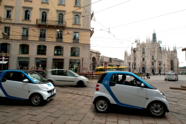 Car2go boomt in Italien