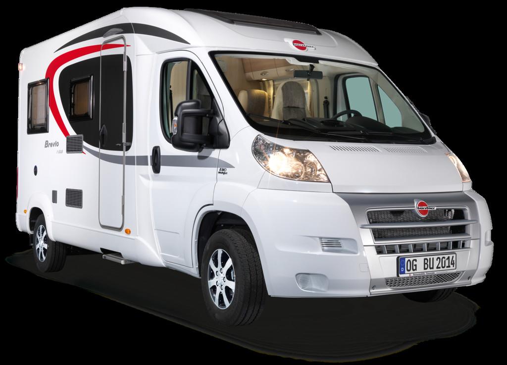 Caravan-Salon 2014: Bürstner Brevio 6000 Euro günstiger