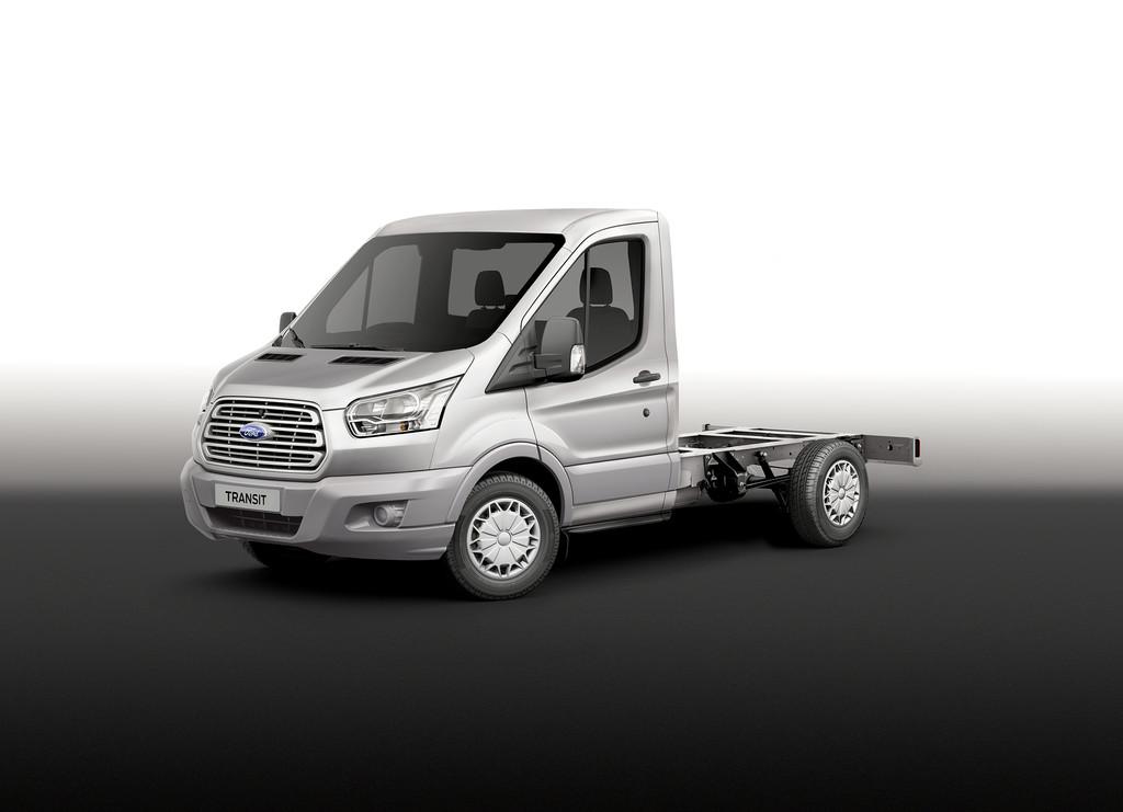 Caravan-Salon 2014: Basisarbeit – Tiefrahmenfahrgestell von Ford