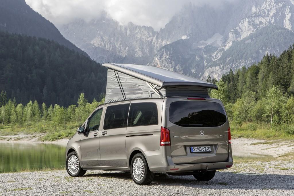 Caravan-Salon 2014: Mercedes-Benz schickt den Marco Polo auf Reisen