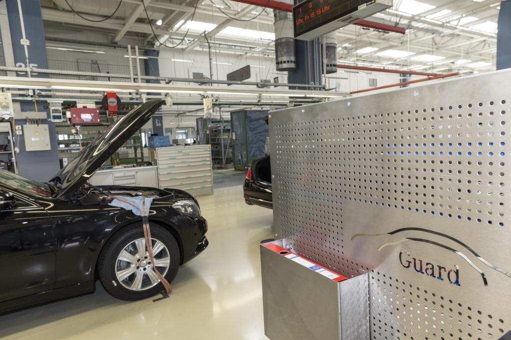 Das sind die Sonderschutzfahrzeuge aus Sindelfingen, mit denen Mercedes seit mittlerweile über 80 Jahren Leib und Leben prominenter Kunden schützt.