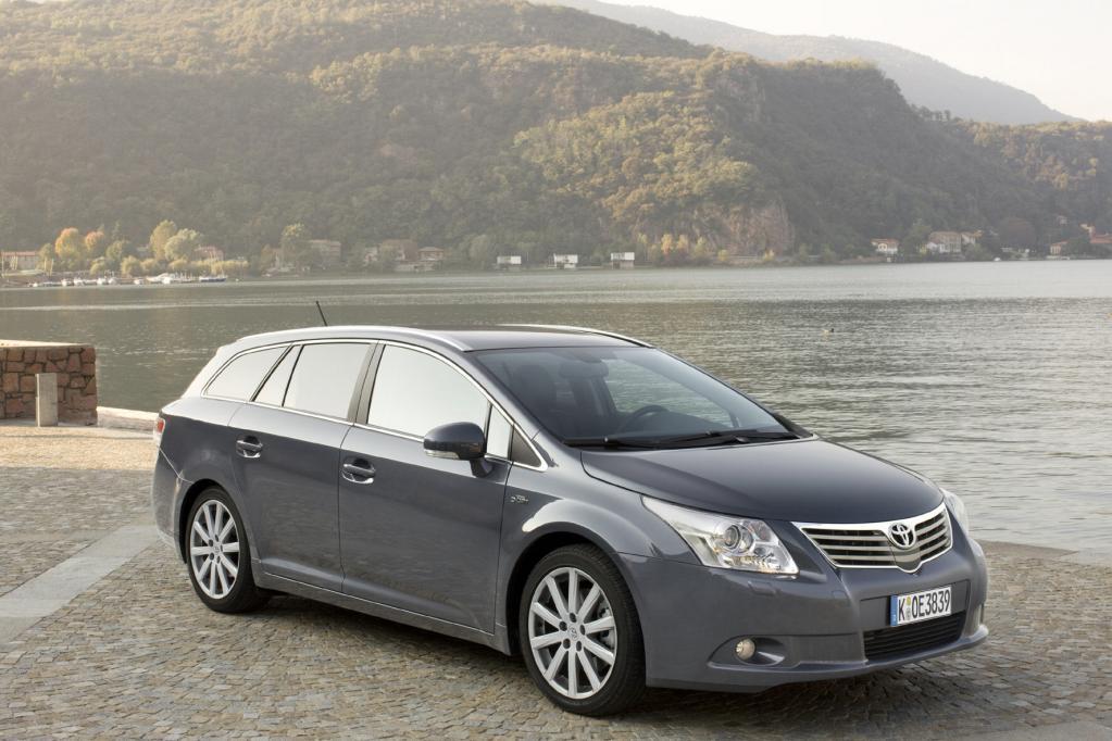 Der Toyota Avensis ist vor allem als Kombi beliebt
