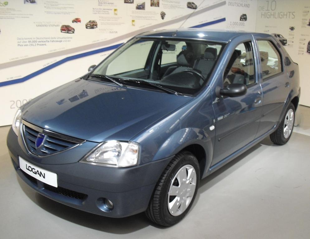Der erste Dacia auch in Deutschland war die Stufenheck-Limousine ...