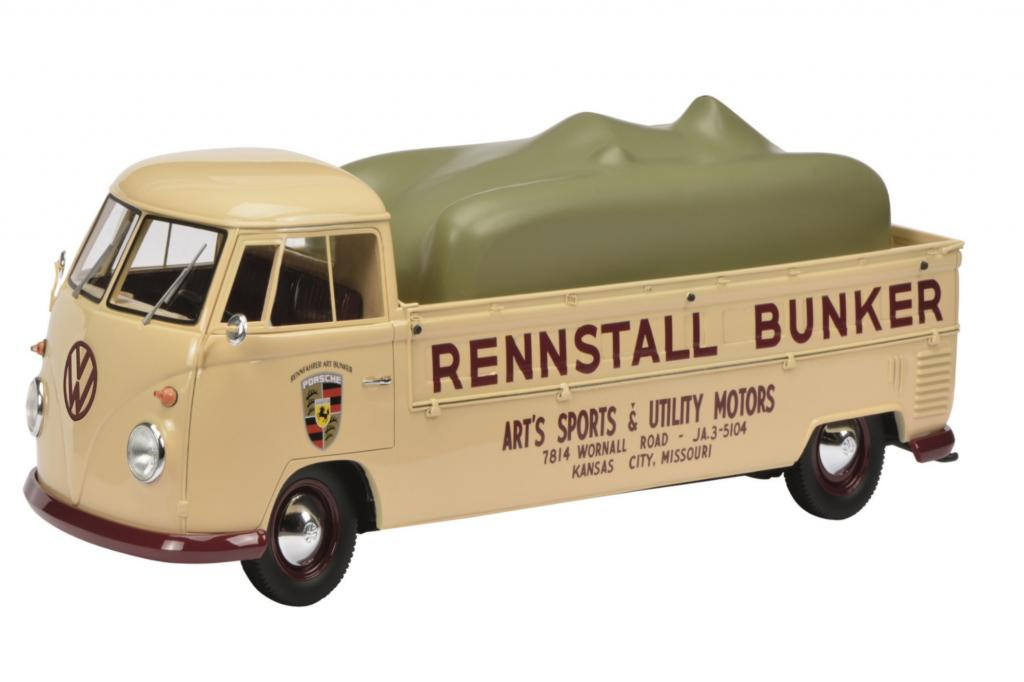 Eine Miniatur des ersten VW-Busses T1 ist für Sammler mit Erinnerungen verbunden, die Nachbildung des aktuellen T5 dagegen einfach nur ein Transporter.