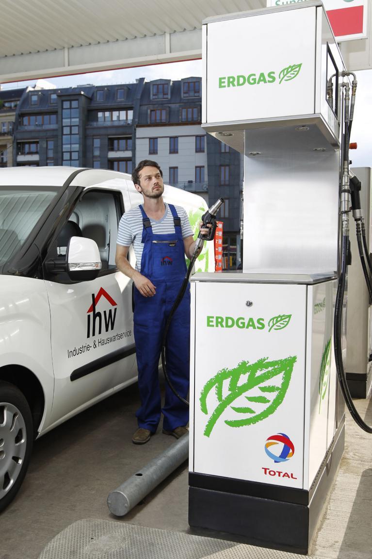 Erdgas als Flottentreibstoff immer beliebter