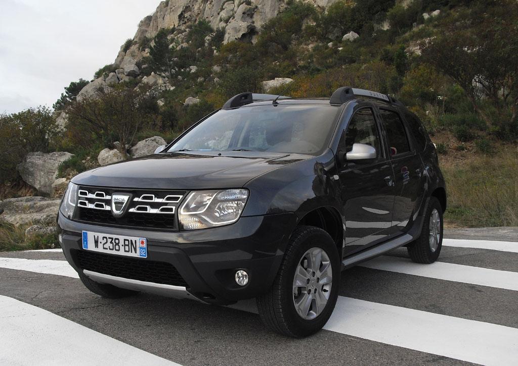 Erfolgsmodell: Kompakt-SUV Dacia Duster.