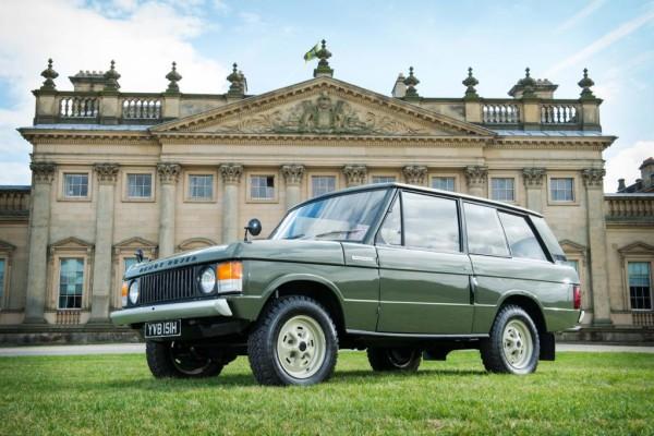 Erster Range Rover kommt unter den Hammer