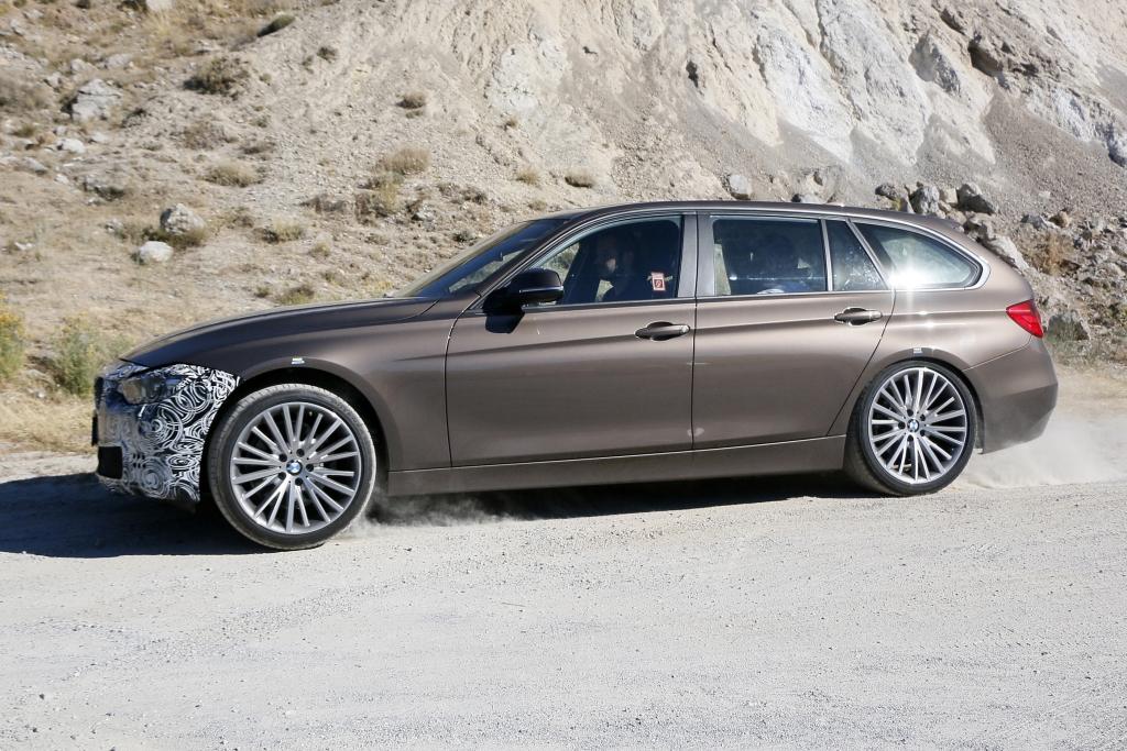 Erwischt: Erlkönig 3er BMW Facelift