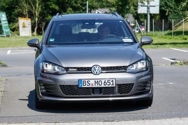 Erwischt: Erlkönig VW Golf GTD Variant