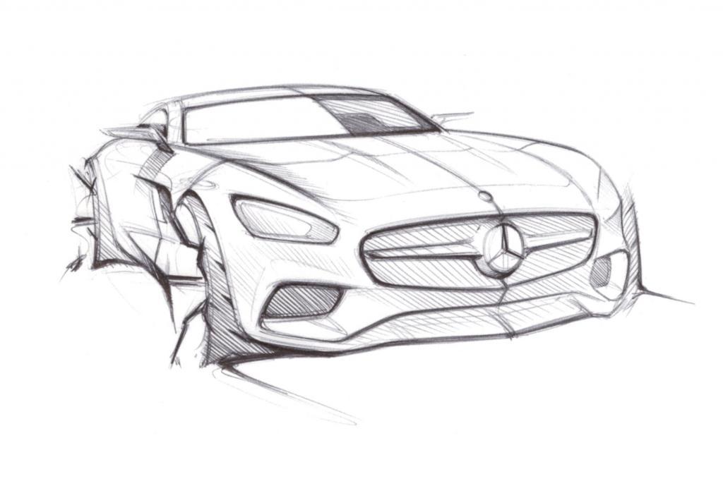 Fünf Wochen vor der Premiere gewährte Mercedes einen heimlichen Blick auf den neuen Zweisitzer GT.