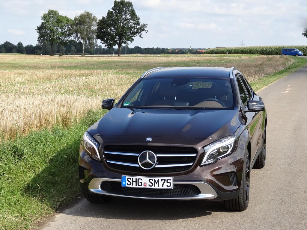 Fahrbericht Mercedes-Benz GLA: Dynamik für den Boulevard