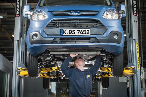Ford setzt auf mehr Service