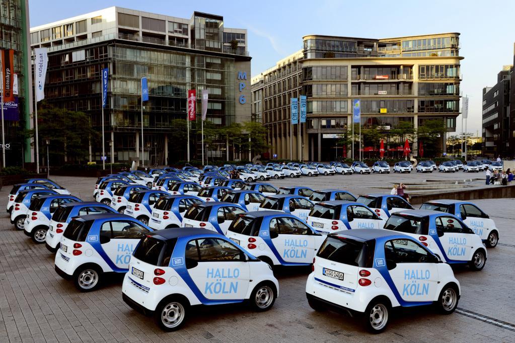 Gemeinsame Fahrzeugnutzung boomt