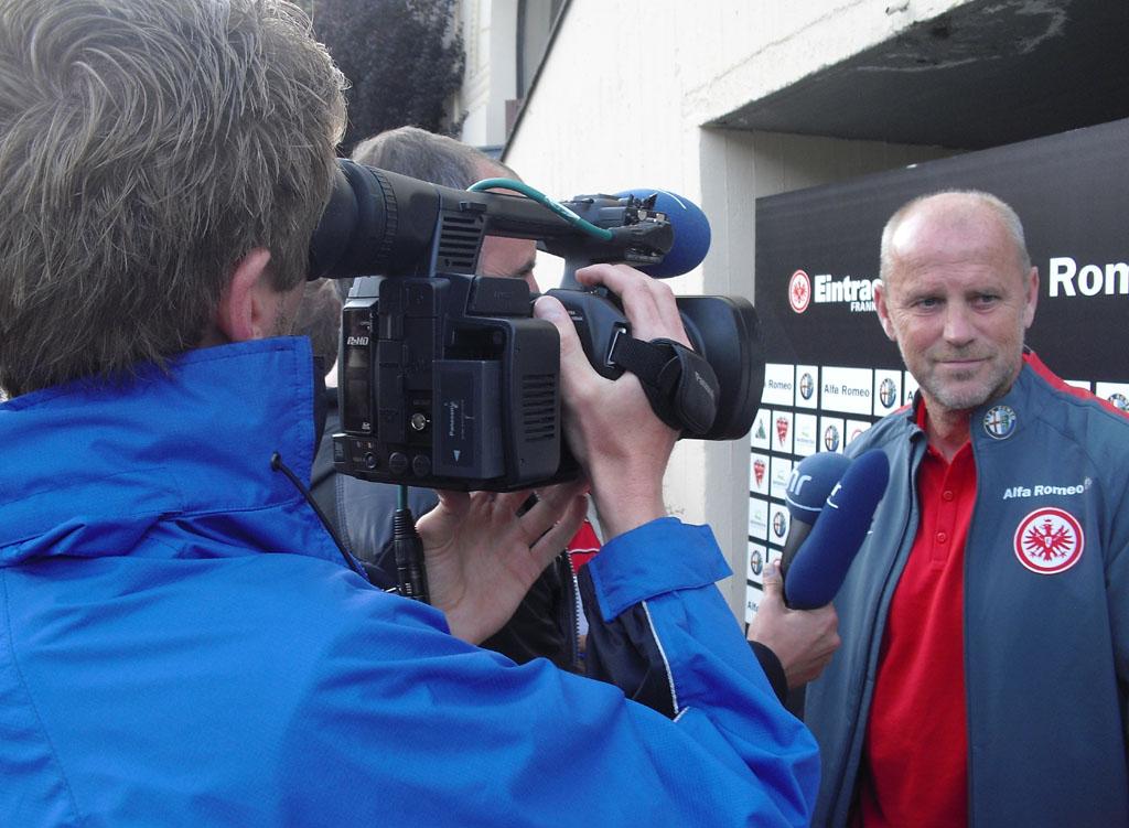 Im Blickpunkt: Frankurts neuer Trainer Thomas Schaaf.